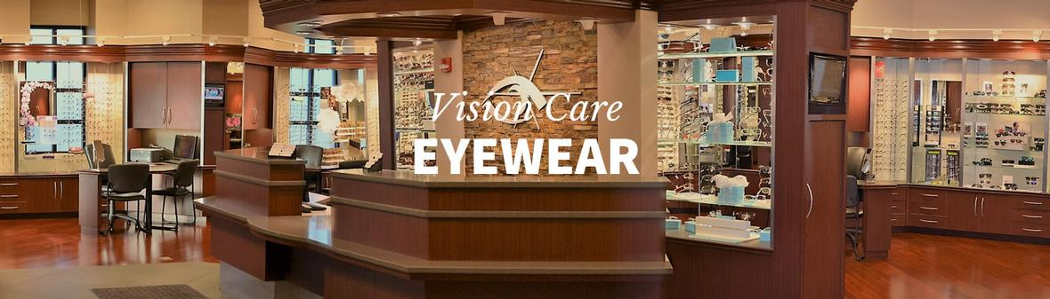 Banner picture for Vision Care Associate's Eyewear Page