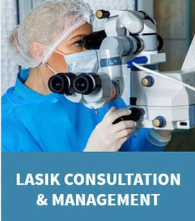 Graphic link to the Lasik Consultation and Management Page