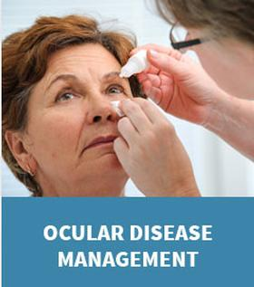Graphic link to the Ocular Disease Page