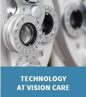 Graphic link to the Technology at Vision Care Page